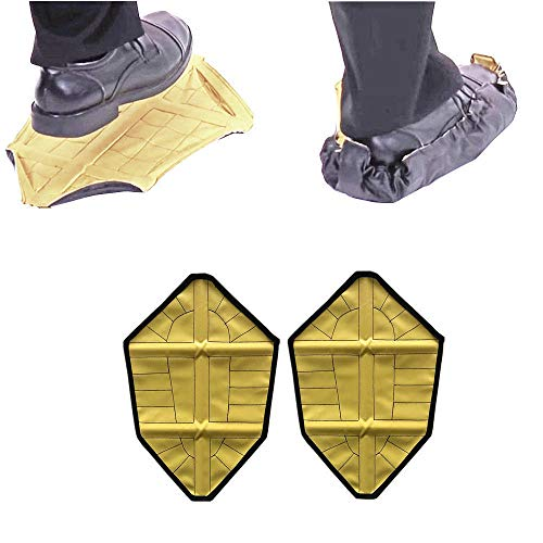 Price comparison product image LILIERS Sale Reusable Automatic Overshoes Shoe Covers Sock AUTO-Package Fast Shoe Covers 2pcs