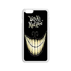 Were all mad here Phone Case for Iphone 6