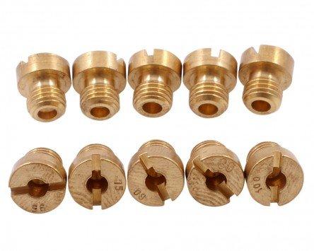 2EXTREME Kit getti//cicler 10pezz DELLORTO M6 // 6mm 60-105