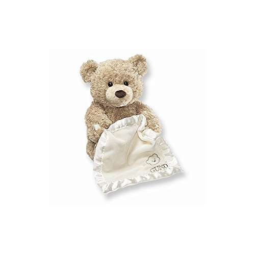 GUND Peek-A-Boo Teddy Bear Animated Stuffed Animal Plush, (Teddy Treasure)