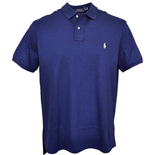 Polo Ralph Lauren Men Medium Fit Soft Touch Polo Shirt, Newport Navy, X-Large