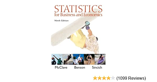 Statistics For Business And Economics 9th