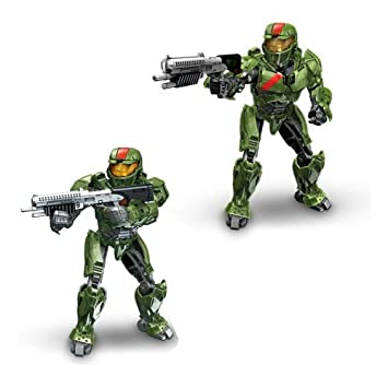 Mega Bloks Halo Wars Red Combat Unit: Amazon.co.uk: Toys &amp- Games