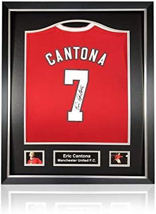 Desconocido Eric Cantona - Camisa de Manga Corta para el ...