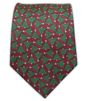 The Tie Bar Holiday Red Style Box 3.5 Inch Ties
