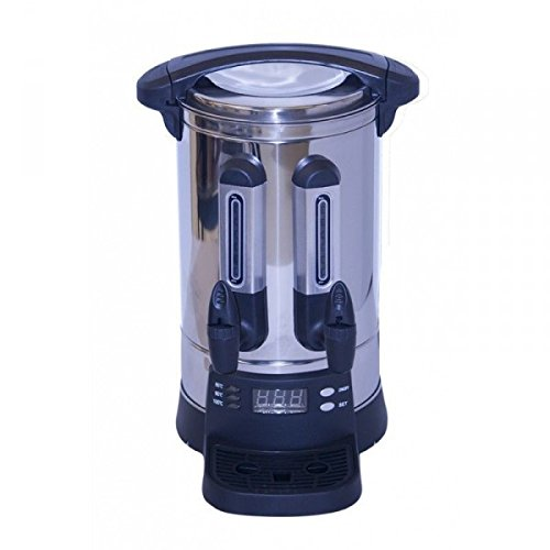 Prizma Gastro Digital Tee-Automat Samowar 20 lt Edelstahl Teemaschine Teematik