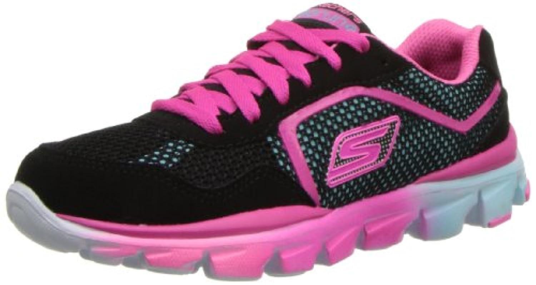 Skechers Go Run Ride, Girls' Trainers, Blue, 3 UK Child