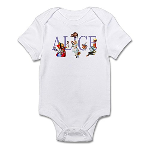 CafePress FRIENDS WONDERLAND Infant Bodysuit