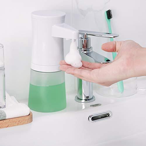DEYIOU Automatic Foaming Soap Dispenser 350mL Infrared Motion Sensor Touchless Electric Foam Soap Dispenser
