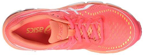 Asics Gel-Kayano 23 Gs, Zapatillas de Deporte Unisex Niños Rosa (Diva Pink/white/flash Coral)