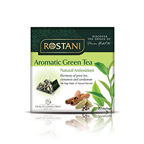 Rostani Herbal Tea (Aromatic Green Tea, 3 pack)