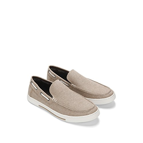 Reazione Kenneth Cole Ankir Slip On B Sneaker Da Barca Low-top - Uomo Sabbia