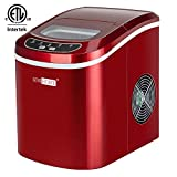 VIVOHOME Electric Portable Compact Countertop Automatic Ice Cube Maker...