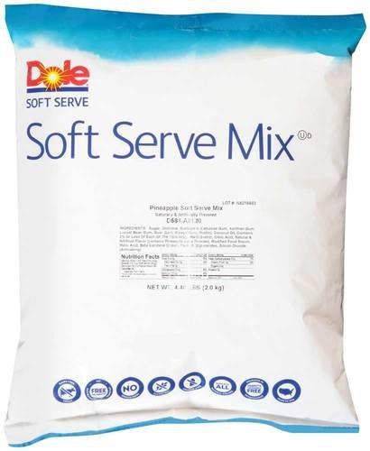Pineapple Ice Cream (Dole Pineapple Soft Serve Mix, 4.4 Pound -- 4 per case.)