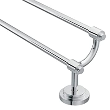 moen dn0722ch iso 24inch double towel bar chrome - Double Towel Bar