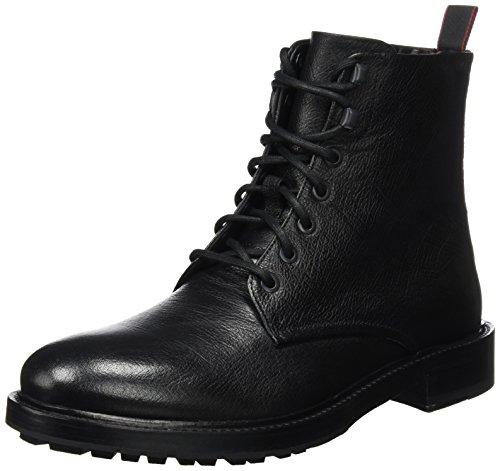 HUGO Herren Defend_Halb_Gr 10201466 01 Combat Boots Schwarz (Black)