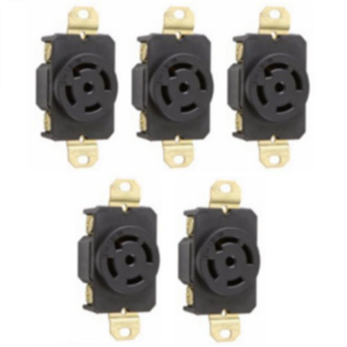 cUL Listed 3 Pole 4 Wire 20A 480V AC NEMA L16-20 Grounding Locking Connector