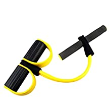 Leg Exerciser Sit-up Body building Expander Elastic Pull Rope Training workout Equipment for abs leg