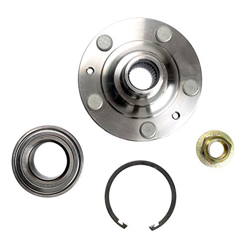DTA NT930177K Front Wheel Hub Wheel Bearing Repair Kit Left or Right Fusion Milan MKZ Includes Nut Clip. Replaces BR930177K, HA590533 930-015 510010 ()