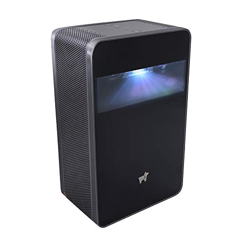 Puppy Cube, Interactive Touchscreen Projector, 300 ANSI lumens, Ultra-Short Throw Projector, DLP, Wi-Fi and Bluetooth 100