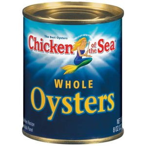 Chicken of the Sea, Oysters, Whole, 8oz Can (Pack of (Whole Oysters)