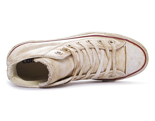 Converse Chuck Taylor All Star Hi Leather Ltd unisex adulto, pelle liscia, sneaker alta