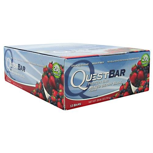 quest protein bars mixed berry - 3
