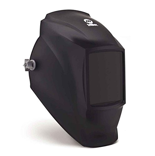 Passive Welding Helmet, Black, Classic MP-10, 8 to 12 Lens Shade