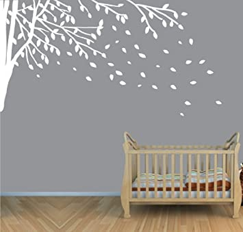 Elegant Amazon.com: Childrens Wall Decals, Vinyl White Tree Wall Decal, Tree Branch Wall  Decal: Toys U0026 Games