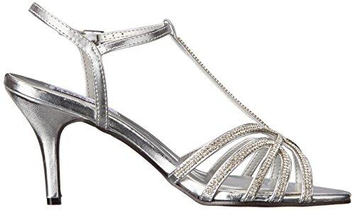 Lexi Sandal Metallic Dress Womens Dyeables Inc Silver 1SEwxcZqp
