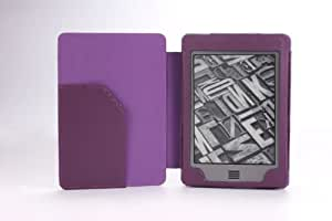 MoKo Cover Case for Amazon Kindle Touch, PURPLE