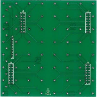 PCB for 8x8x8 LED Cube Kit - Cube Base