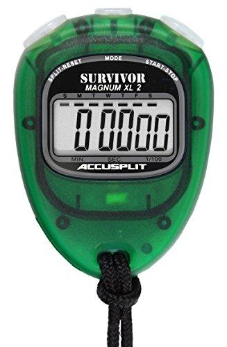 Accusplit Survivor Stopwatch - Accusplit New Survivor 2 - Lime New Survivor SX 2 Series Stopwatch