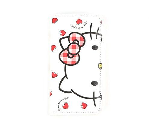 Apple Hello Kitty Sanrio (Hello Kitty Wallet iPhone 7 Case: Hearts)