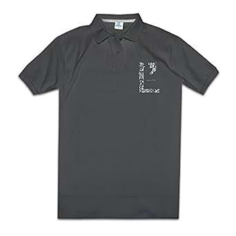Polo Shirt L 39 Arc En Ciel Rock Band Smile Heart