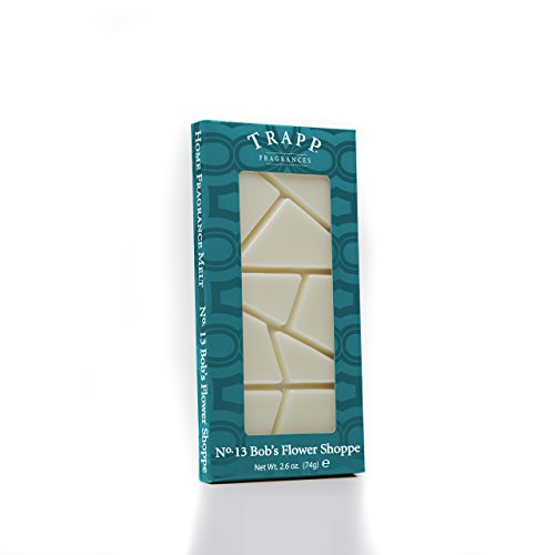 - Trapp - No. 13 Bobs Flower Shoppe 2.6 oz Home Fragrance Melts-2 per case