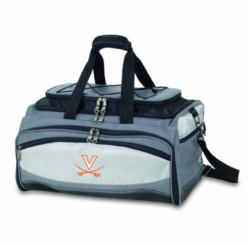 NCAA Virginia Cavaliers Buccaneer Tailgating Cooler with Grill by PICNIC TIME