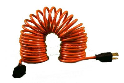 Terrific Flexy Coiled Extension Cord 14 Gauge 15 Amps Extends From 10 In Wiring Cloud Peadfoxcilixyz