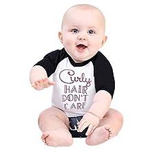 Baby Girl Boys Baseball Jersey T-Shirt, SUPPION Kids Toddler clothing