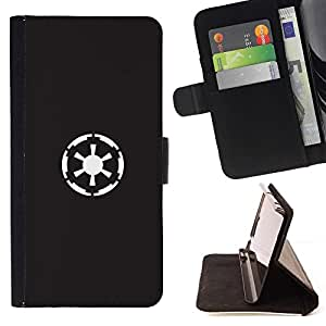 Momo Phone Case / Flip Funda de Cuero Case Cover - Patrón Oso Grizzly Tatto Dreamcatcher Arte - Samsung Galaxy S6 Active G890A