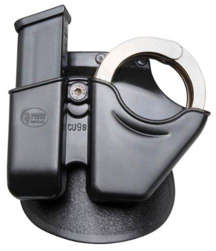 - Fobus  Paddle CUG1045 Handcuff / Magazine Combo - Glock 10mm /.45 cal