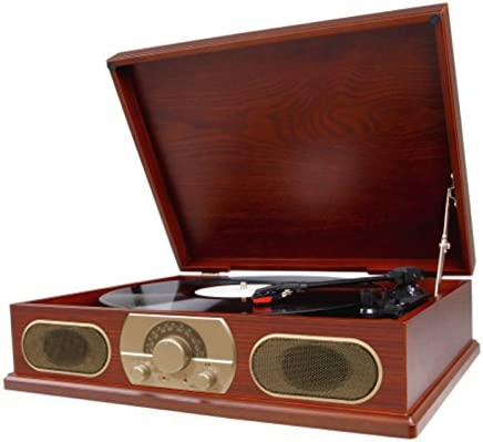Amazon.com: Studebaker SB6051 Wooden Turntable with AM/FM ...