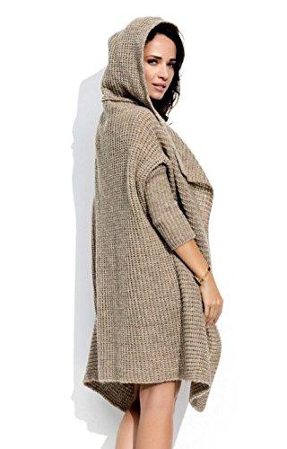 Lsecret  - Cárdigan - para mujer marrón
