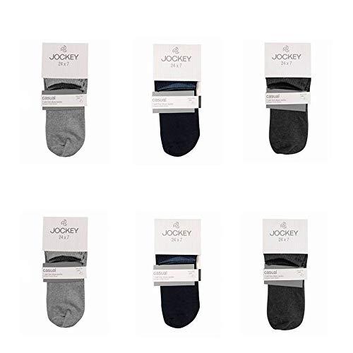 Jockey Men's Low Cotton Show Socks – Multicolour