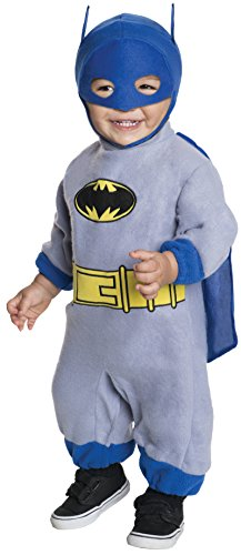 Rubie's Costume Batman The Brave And The Bold Romper Blue Batman  Blue Print  6-12 -