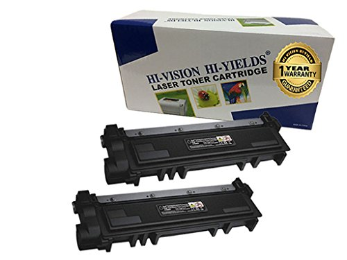 - HI-VISION 2 Pack Compatible (2,600 Pages) Dell E310dw/ E514dw/ E515dw/ E515dn (593-BBKD, PVTHG) High Yield Black Toner Cartridge Replacement