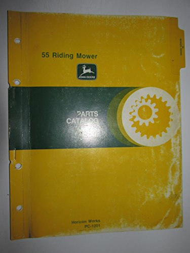Parts Deere John Catalog - John Deere 55 Riding Mower Parts Manual PC1201