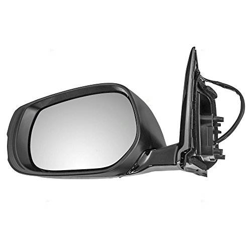 Drivers Power Side View Mirror Heated Ready-to-Paint Replacement for Infiniti 96302-4HB0A