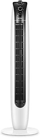 Opinión sobre Aire acondicionado ventilador de enfriamiento de la torre de control remoto, portátil 36W silencioso eléctrico ventilador de refrigeración ventilador de dormitorio, ventilador sin hojas vertical,