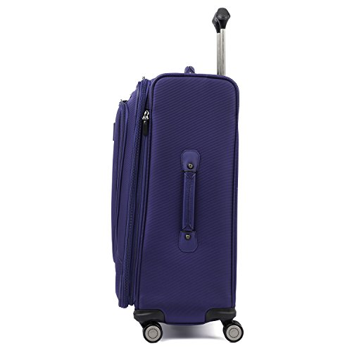 Travelpro Luggage Crew 11 25' Expandable Spinner Suitcase w/Suiter, Indigo